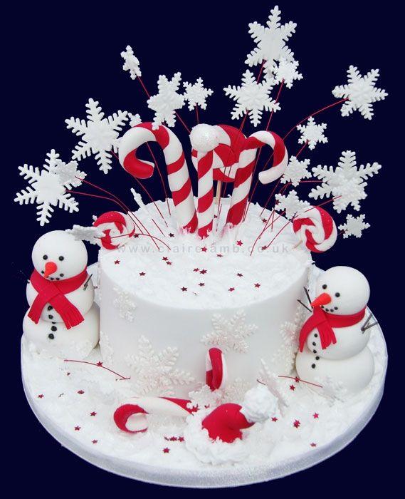Holiday Birthday Cakes