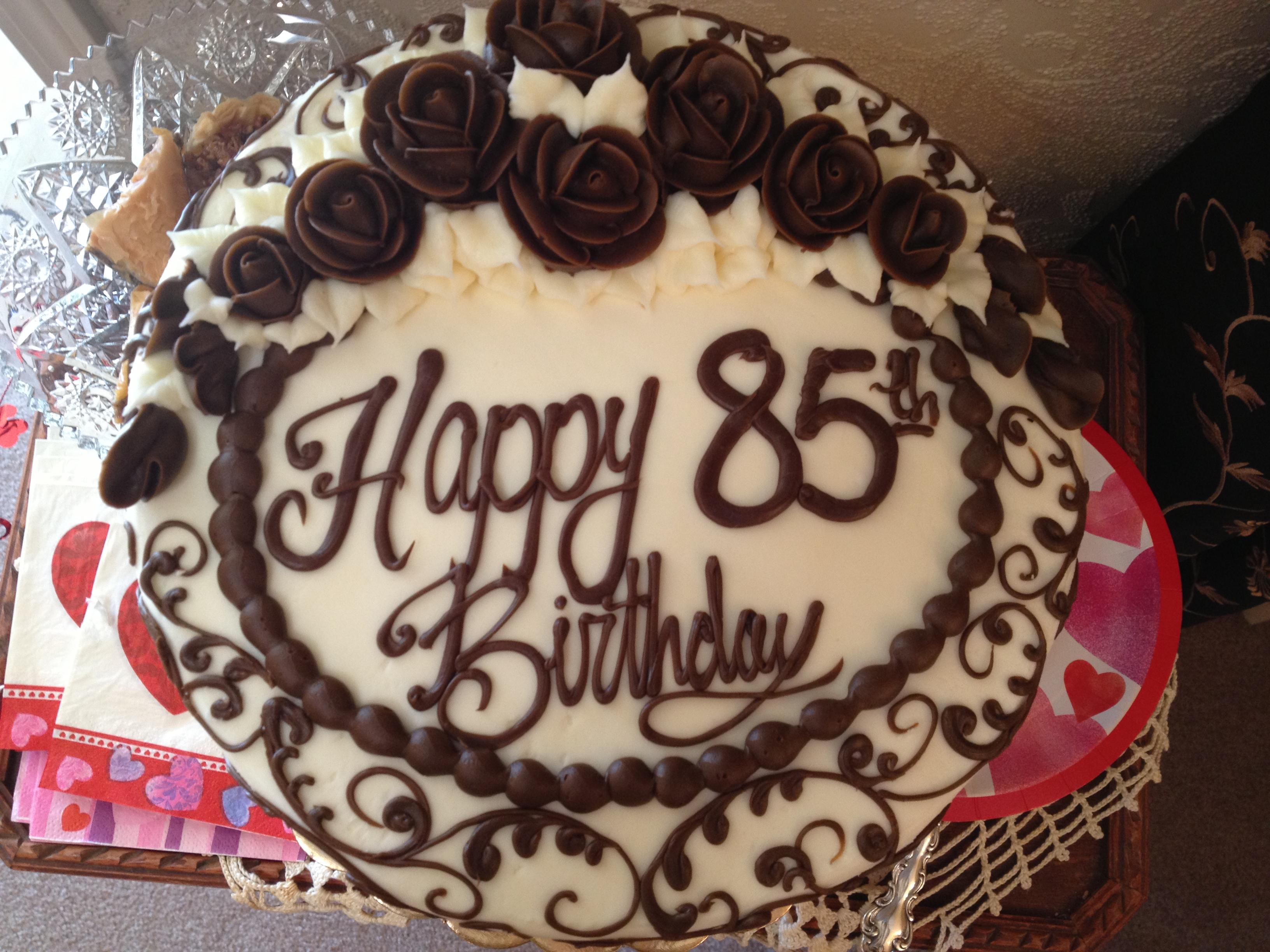 85Th Birthday Cakes