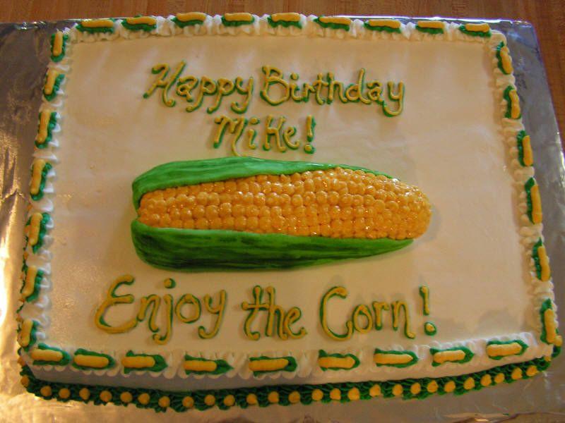 Corn Birthday Cakes