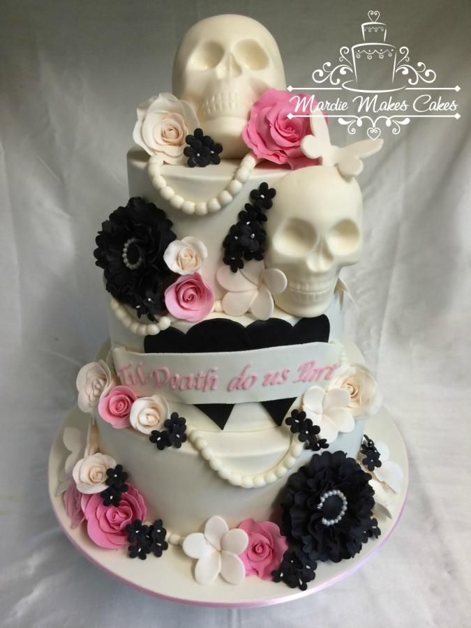 Skull Themed Wedding Wedding Ideas