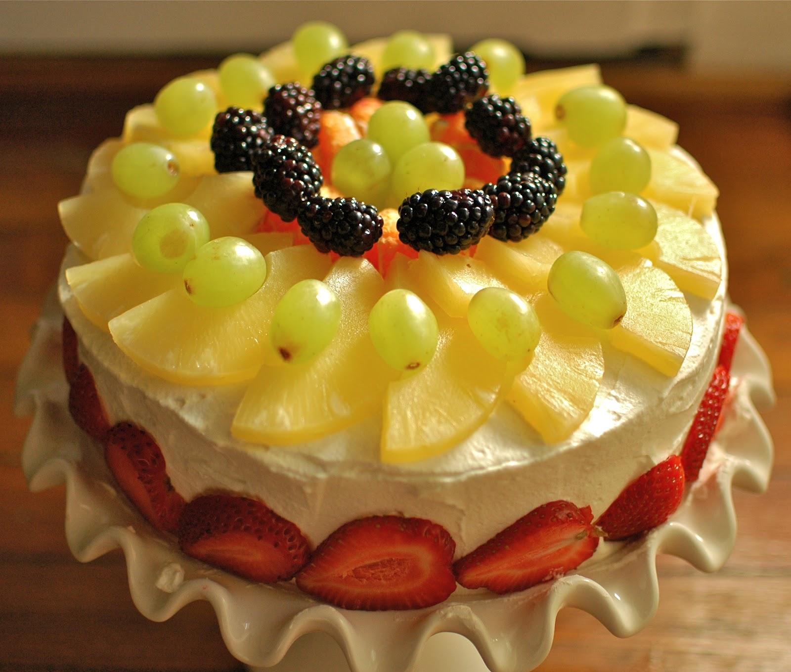 Fruits Birthday Cakes