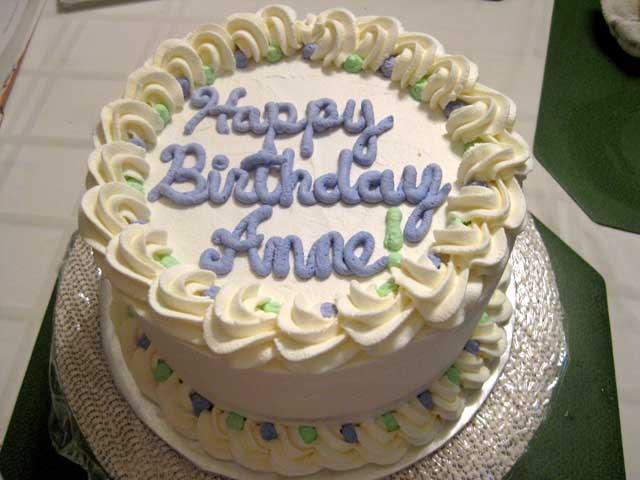 Ann Birthday Cakes