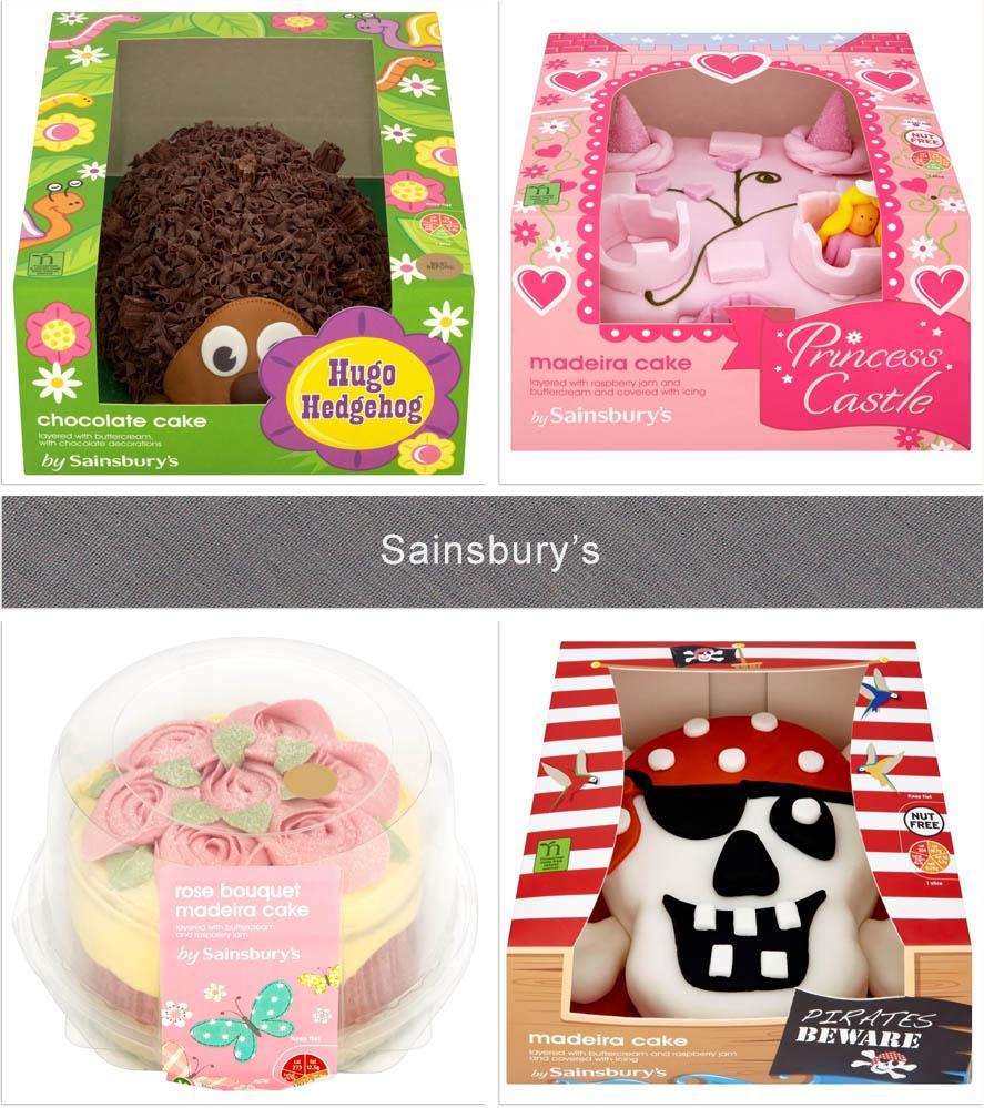 Sainsbury Birthday Cakes