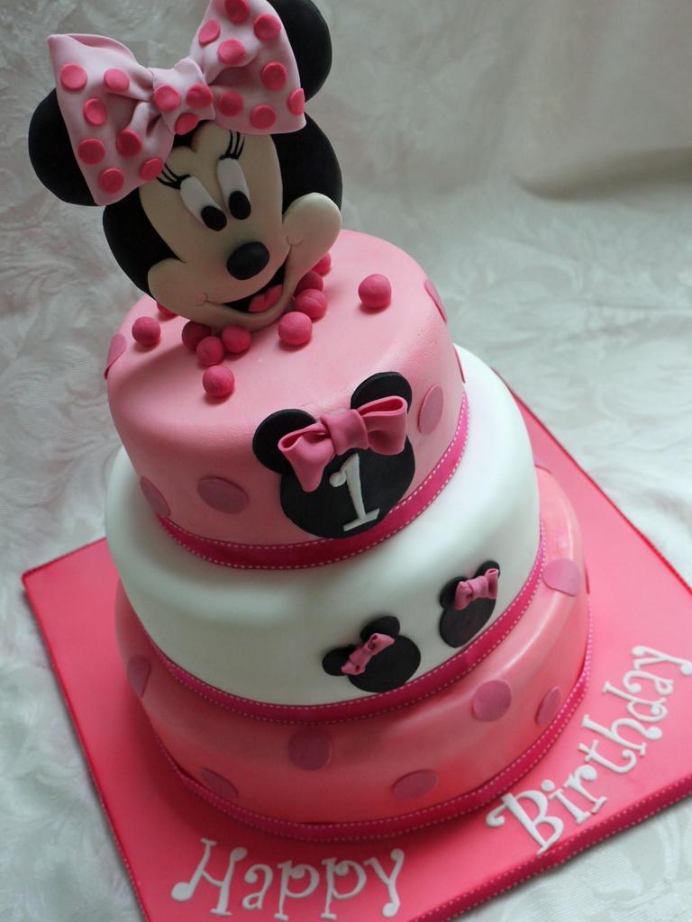 Minnie Birthday Cakes