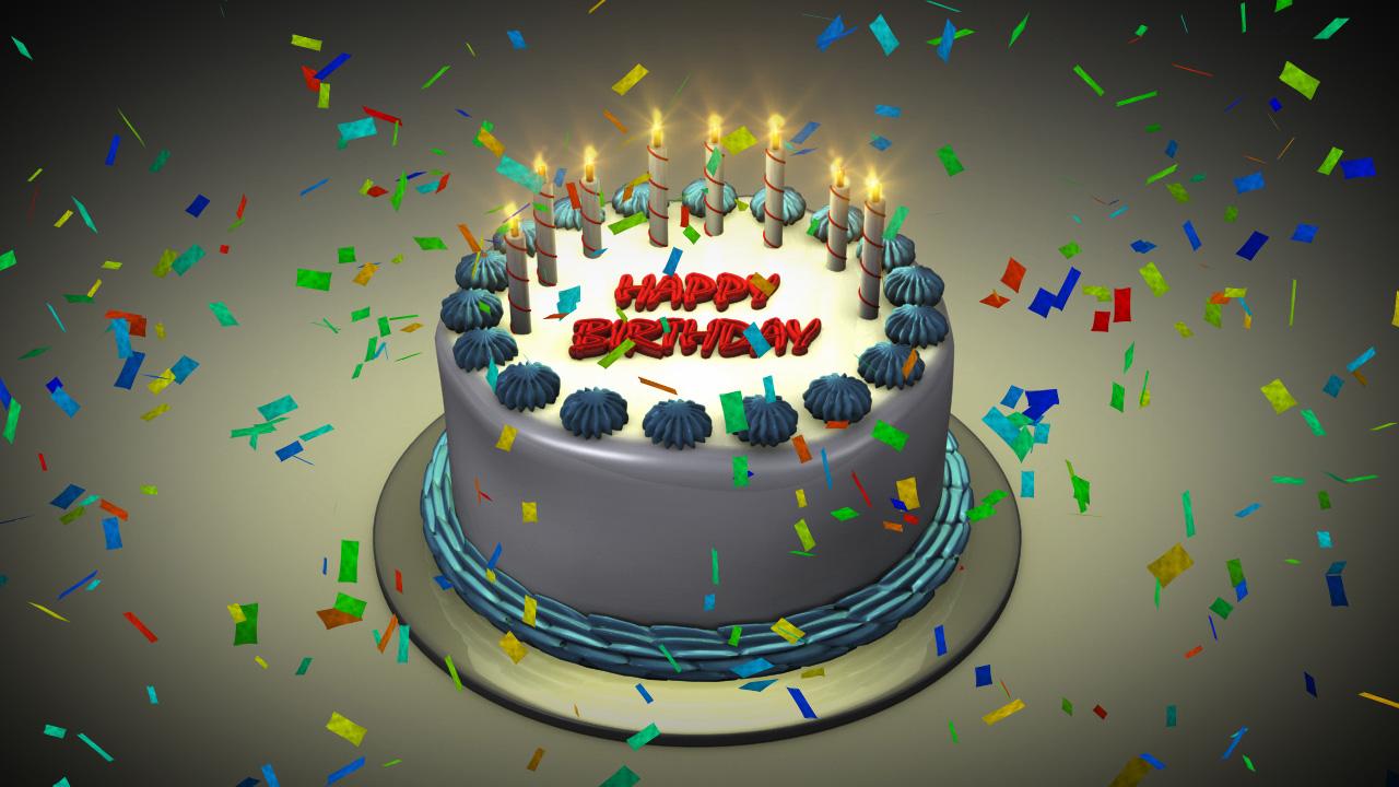Interactive Birthday Cakes