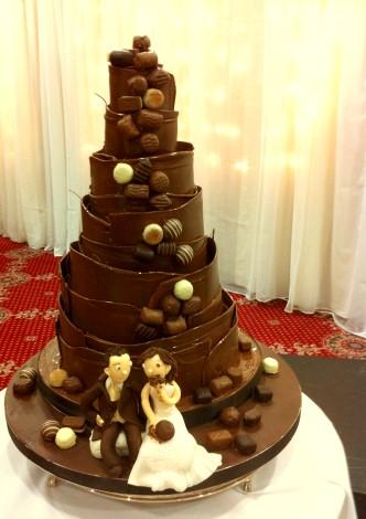 Truffle Wedding Cakes