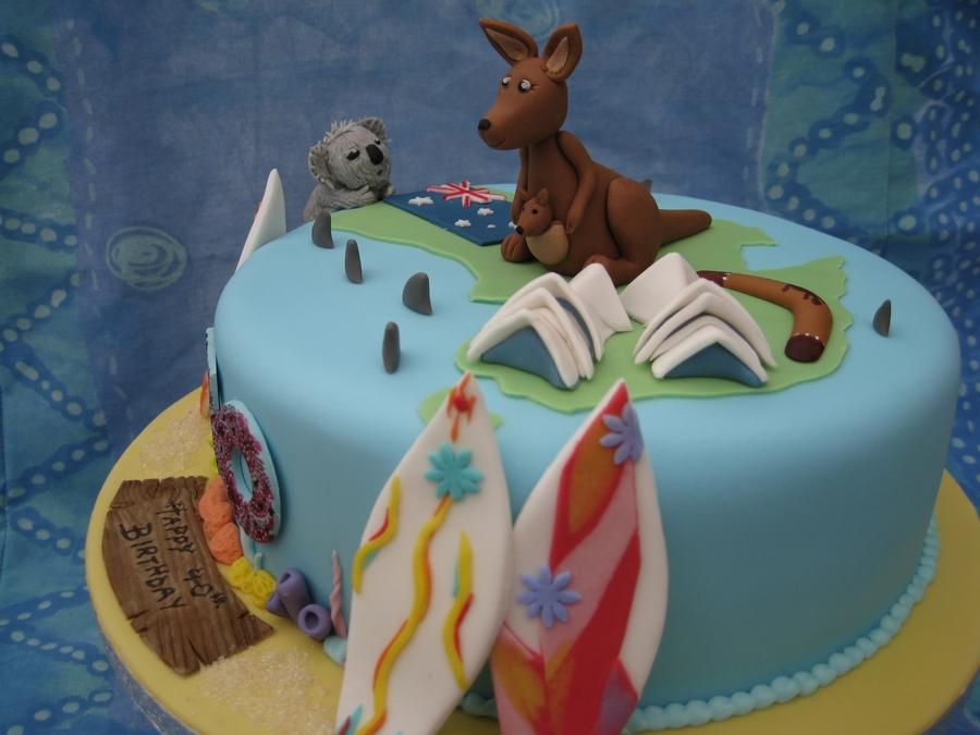 Aussie Birthday Cakes