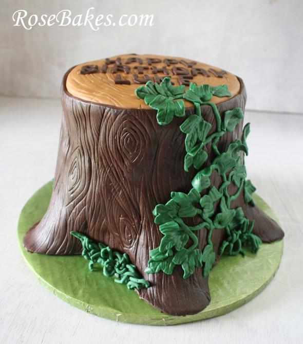 Stump Wedding Cakes