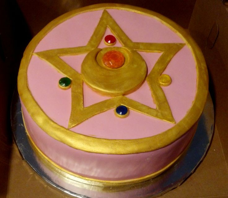 Moon Birthday Cakes