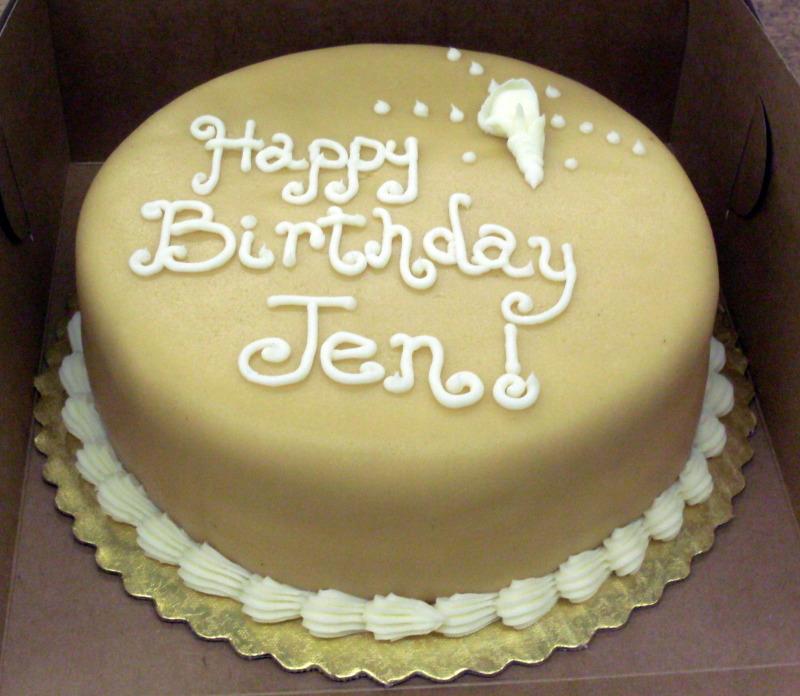 Marzipan Birthday Cakes