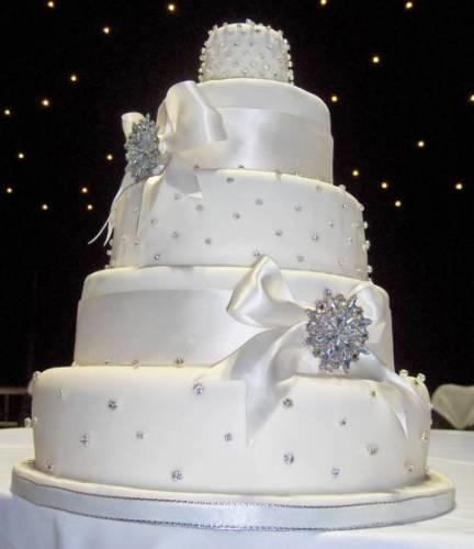 Faux Wedding Cakes