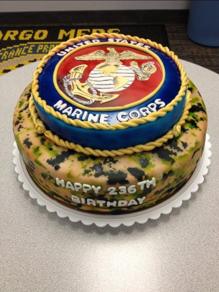 Marine Birthday Cakes