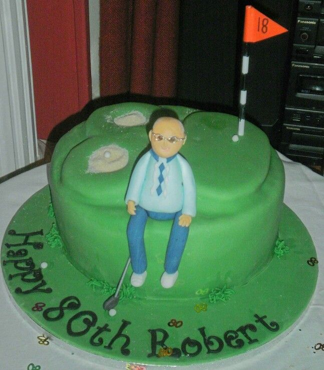 Grandfather Birthday Cakes Source 80th