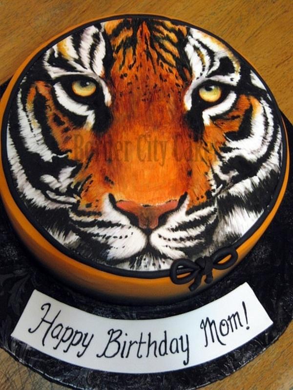 Tiger Birthday Cakes