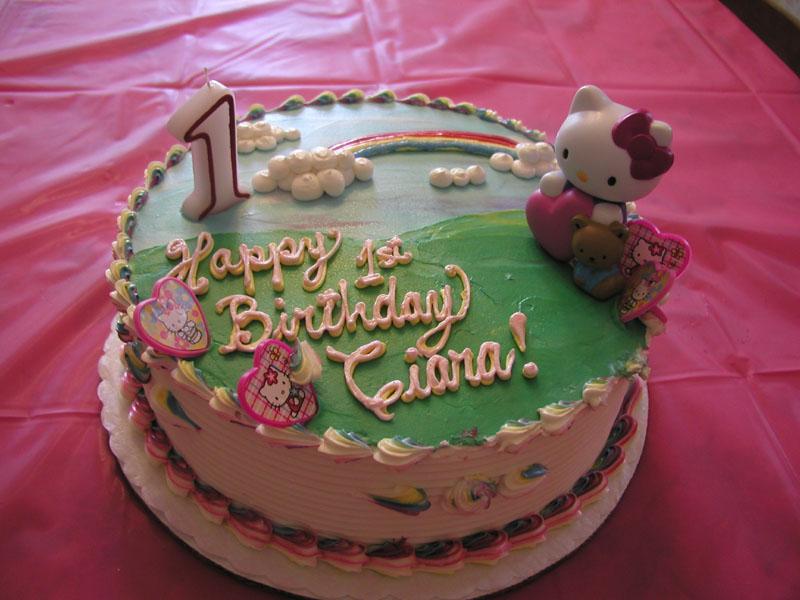 Ciara Birthday Cakes