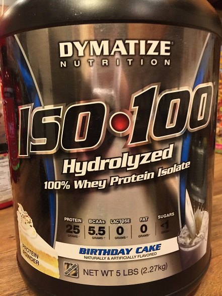 Dymatize Iso 100 Birthday Cake Review Bodybuilding