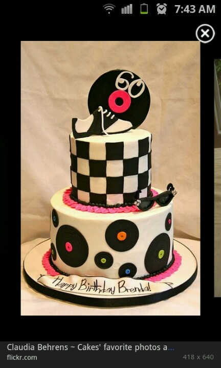 1950S Birthday Cakes