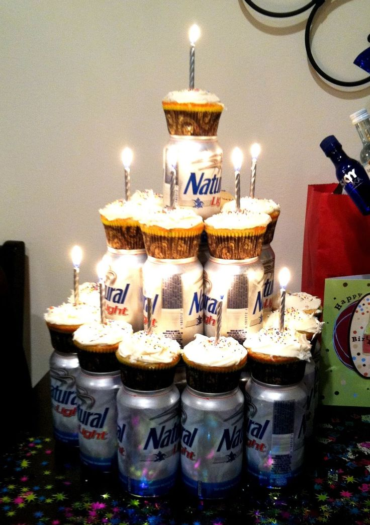 Beer Birthday Cakes