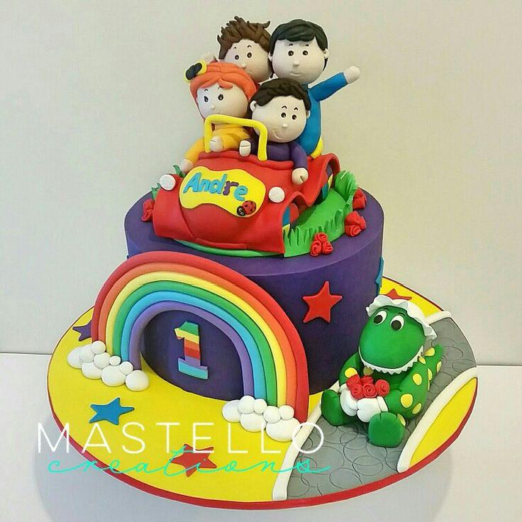 Wiggles Birthday Cakes