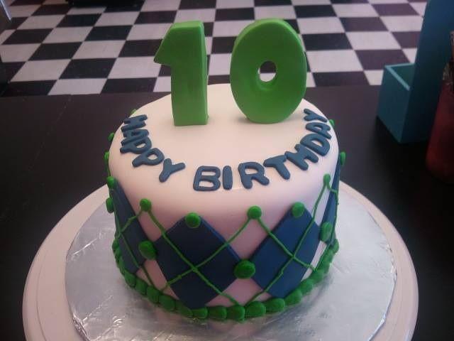 Tenth Birthday Cakes