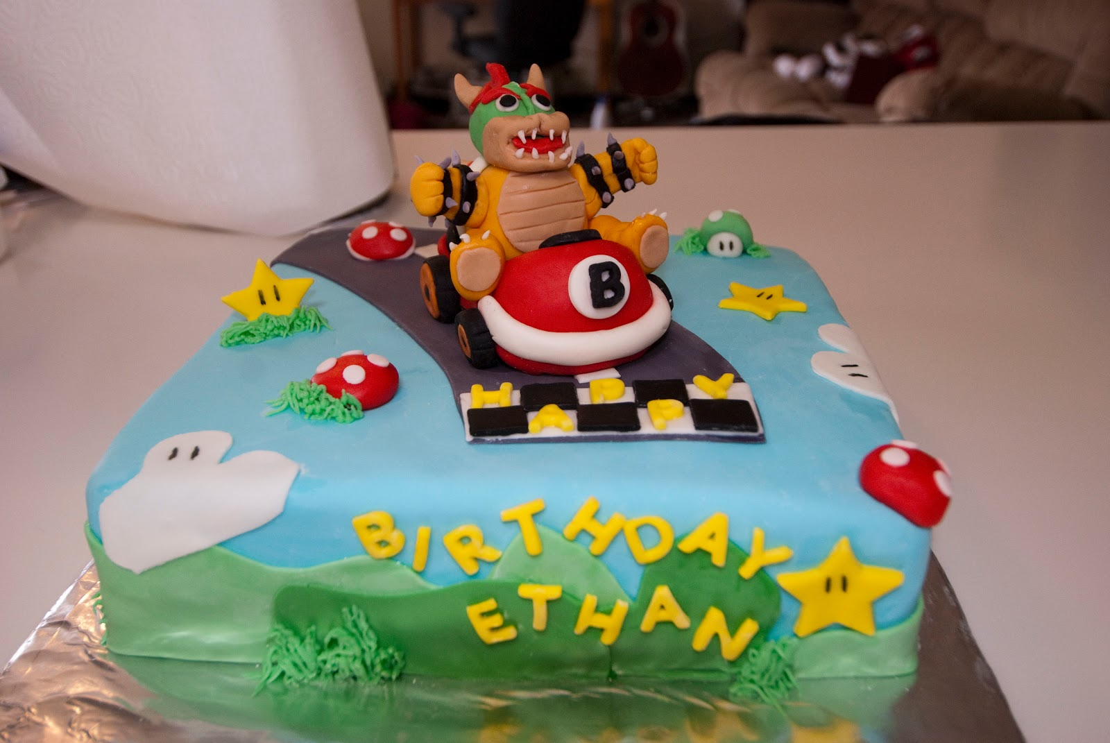 Bowser Birthday Cakes
