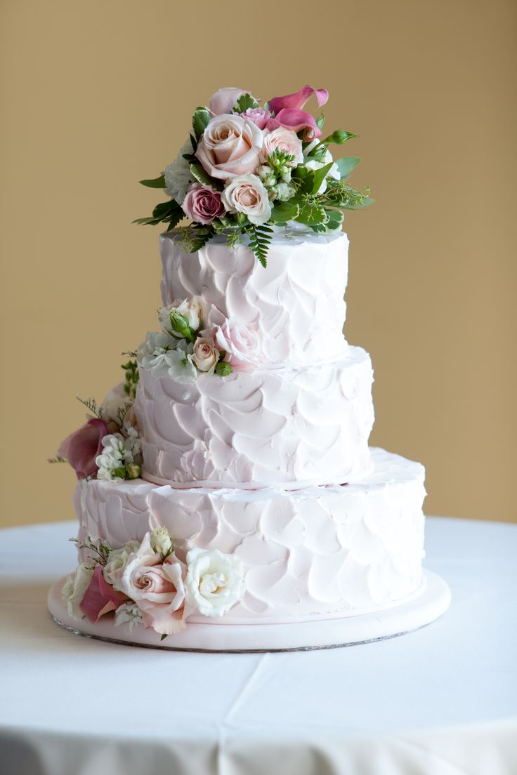 Homemade Wedding Cake.Homemade Wedding Cakes