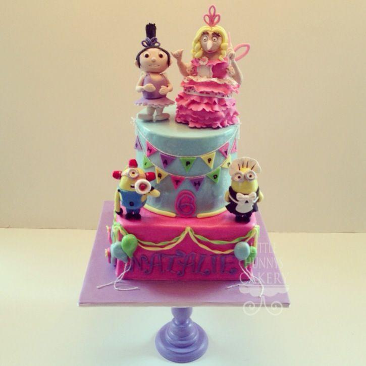 Gru Birthday Cakes