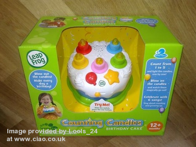 Reviews Educational Toys LeapFrog Birthday Cake Could