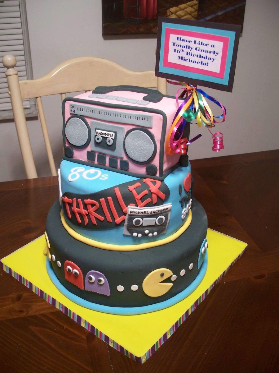 80S Birthday Cake CakeCentral