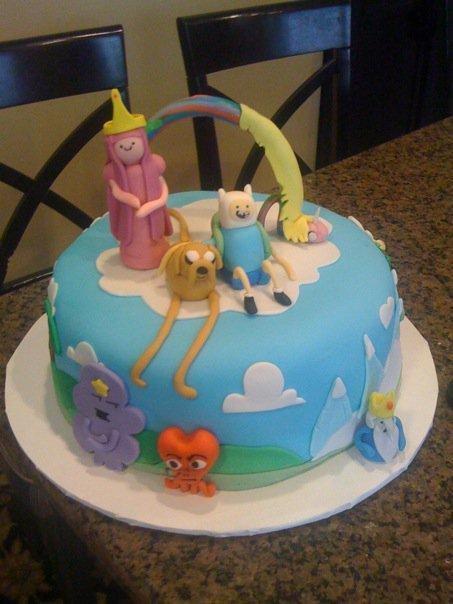 Adventure Birthday Cakes
