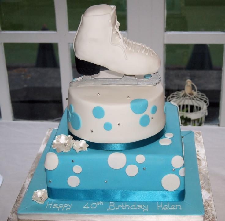 Ice Birthday Cakes