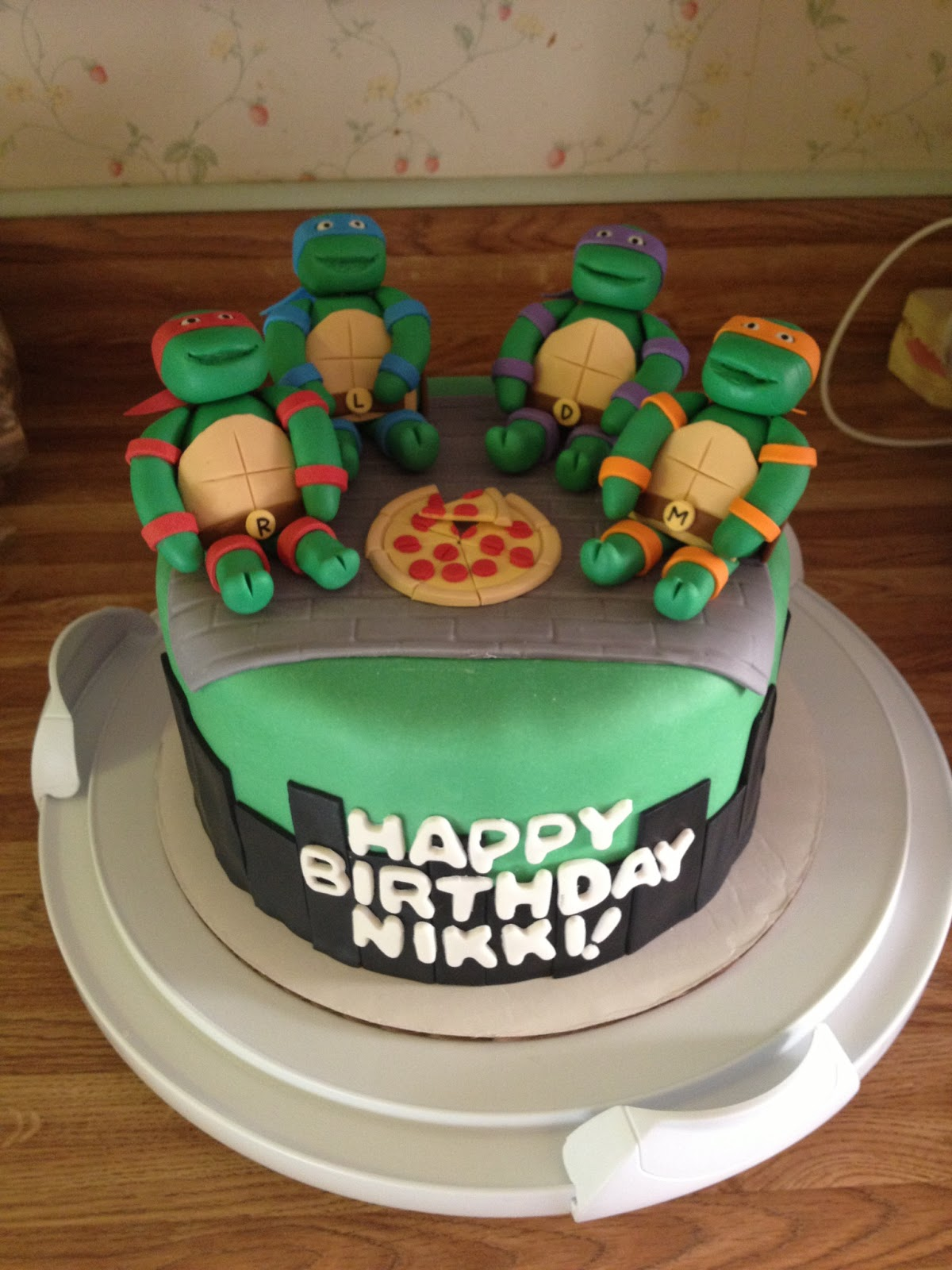 Turtle Birthday Cakes