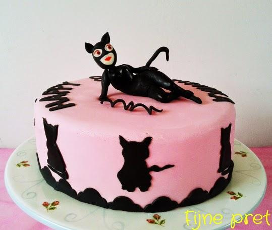 Catwoman Birthday Cakes