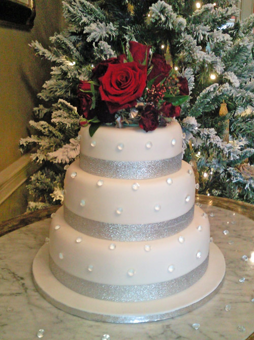 christmas wedding cake divine wedding cakes