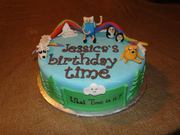 84 Adventure Time Birthday Cake Walmart