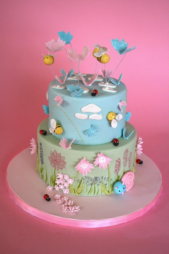 Spring Birthday Cakes