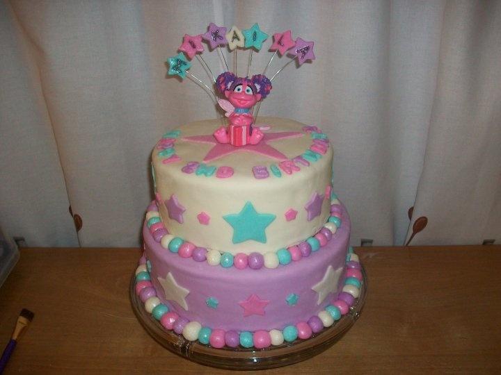 Elmo Abby Cadabby Birthday Cake Jpg 720x540 1st