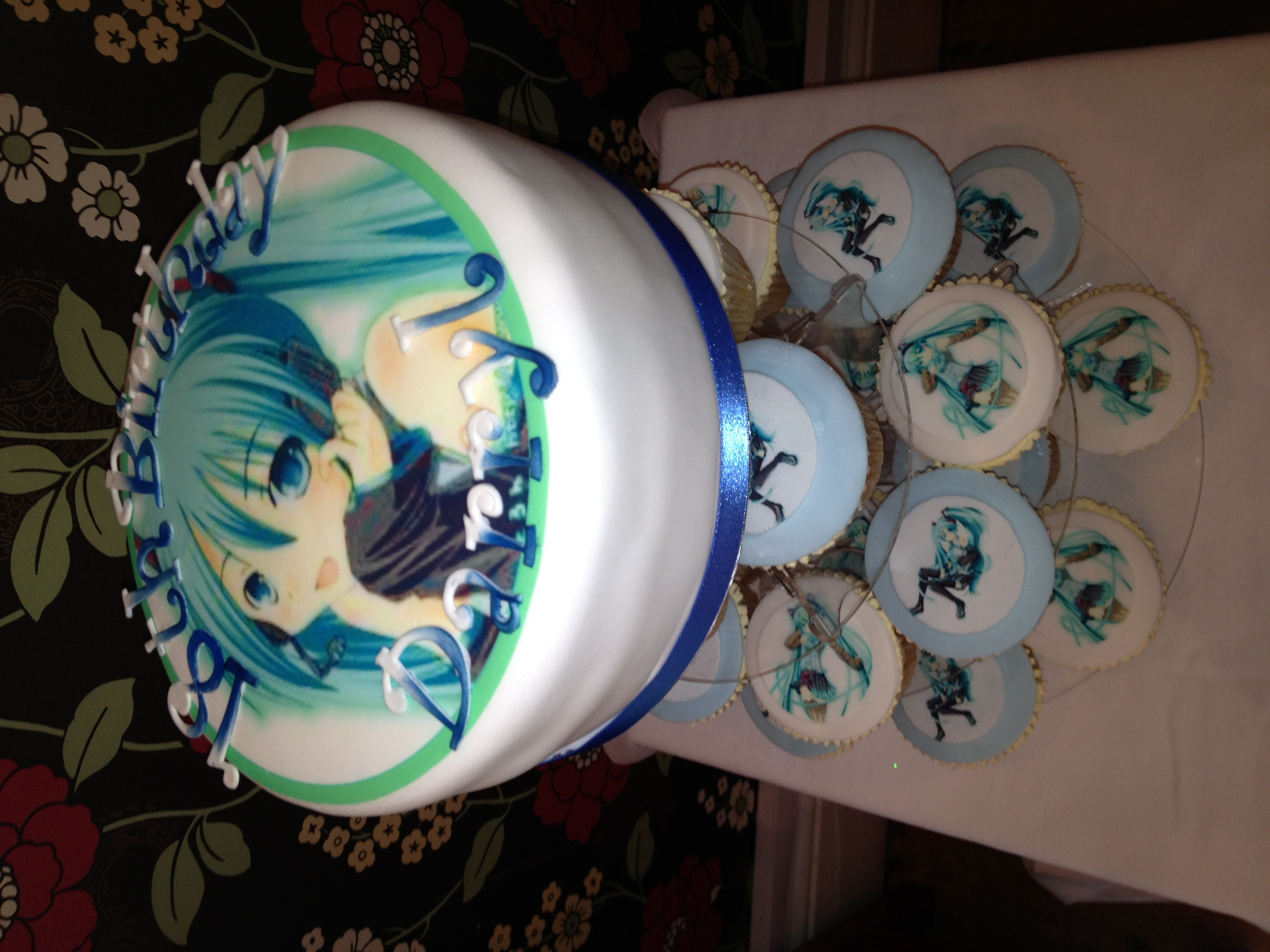 Anime Birthday Cakes