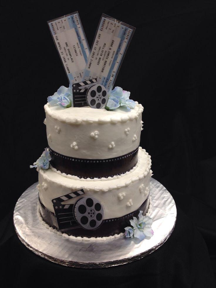 Movie Wedding Cakes