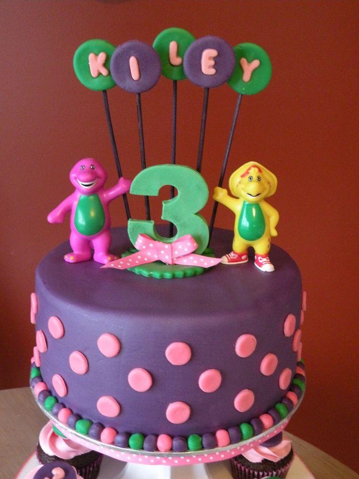 Barney Birthday Cakes