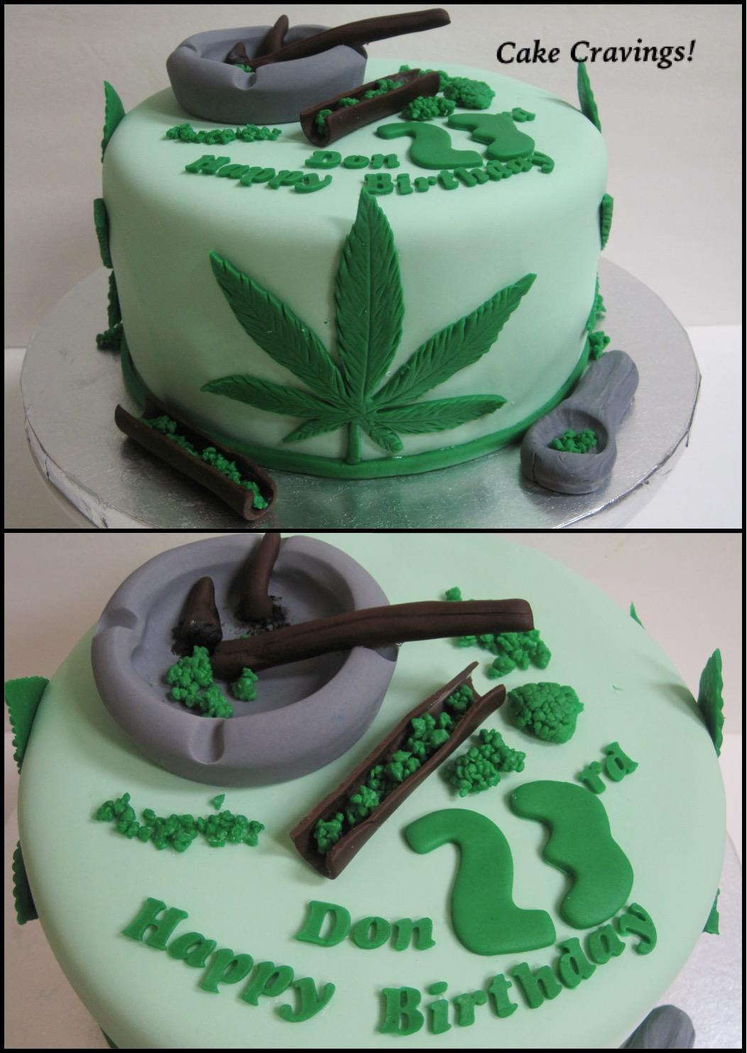 Marijuana Birthday Cakes