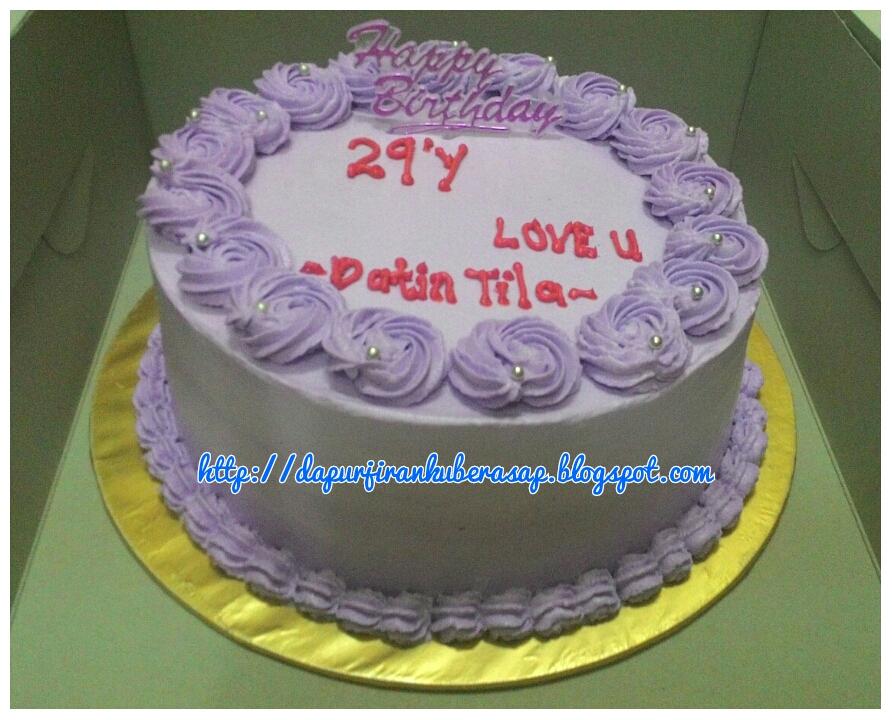 Yam Birthday Cakes
