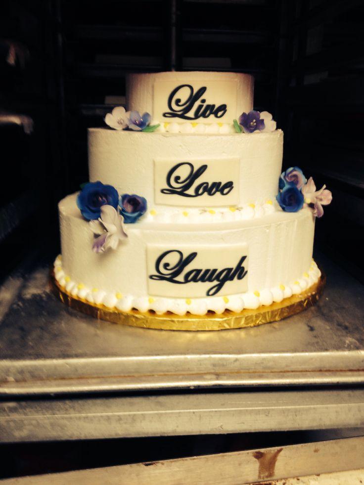 Ice Wedding Cakes
