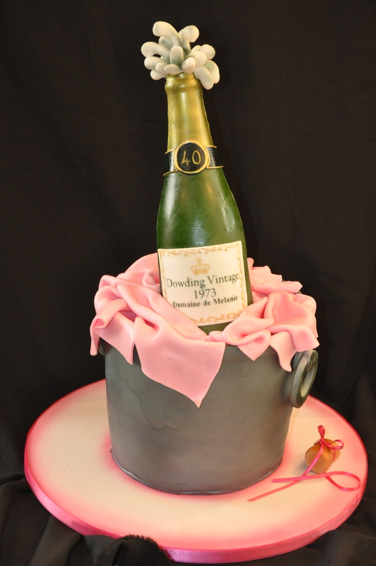 Champagne Birthday Cakes