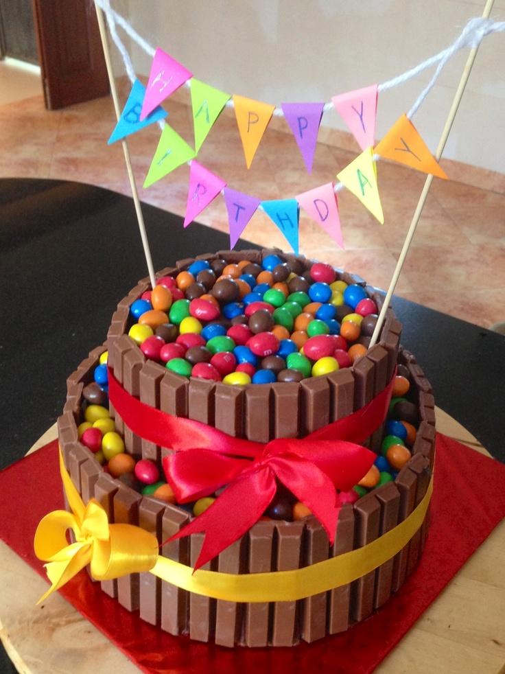 Kitkat Birthday Cakes