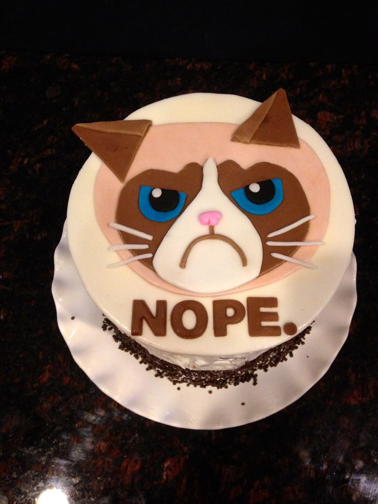 Grumpy Birthday Cakes