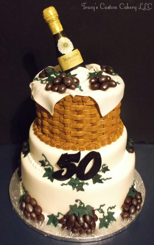 Wine Birthday Cakes