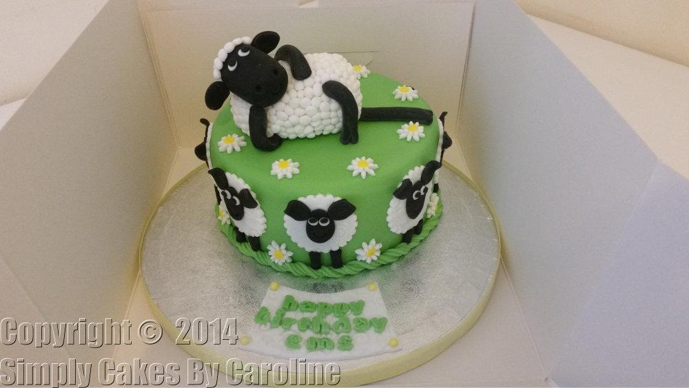 Sheep Birthday Cakes