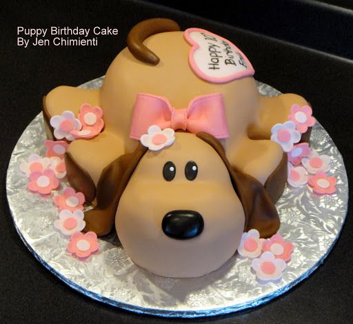 Dog Shaped Cake Ideas Decoration Cakes