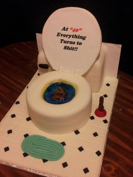 Joke Birthday Cakes